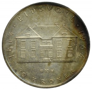 Norway, 10 kroner 1964
