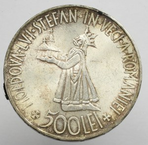 Romania, 500 lei 1941 Bessarabia Reunion
