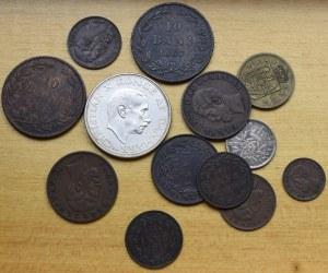 Rumunia, Dania, zestaw monet
