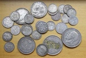 Great Britain, set of coins