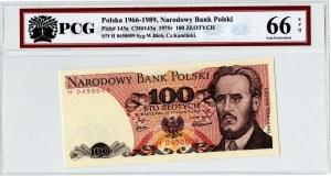 PRL, 100 złotych 1975 H - PCG 66EPQ