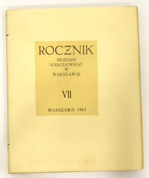 Rocznik Muzeum Narodowego w Warszawie VII