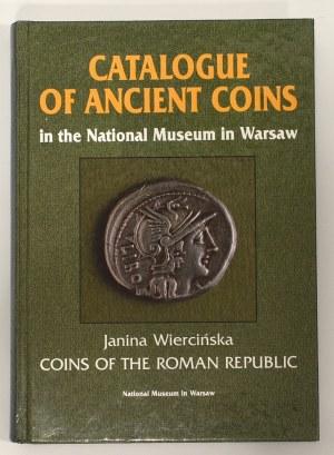 Wiercińska Janina, CATALOGUE OF ANCIENT COINS