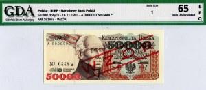 RPL, 50 000 złotych A - WZÓR - GDA 65EPQ
