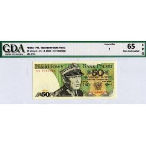 PRL, 50 złotych 1988 HU - GDA 65EPQ