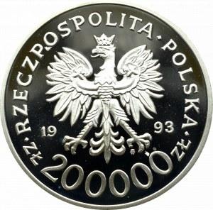 III Rzeczpospolita, 200 000 złotych 1993 750 Rocznica Nadania Praw Miejskich Szczecinowi