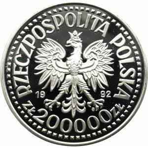 III Republic of Poland, 200.000 zloty 1992