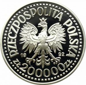 III RP, 200.000 zl, Convoys 1992, trial Ni