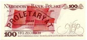 PRL, 100 złotych 1979 HC