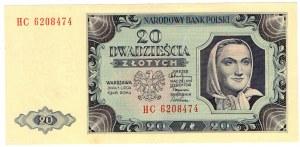 PRL, 20 złotych 1948 HC