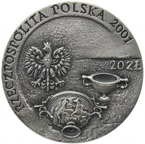 III RP, 20 złotych 2001 Szlak bursztynowy