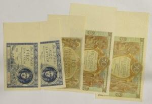 II RP, Zestaw 5-50 złotych