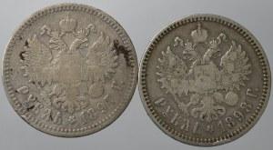 Rosja, Mikołaj II, Zestaw rubli