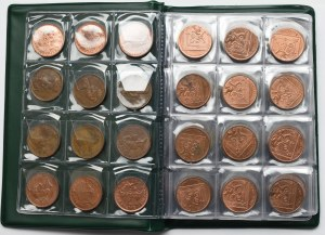 Great Britain, Europe, set of coins