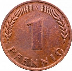 Niemcy, 1 pfennig 1948