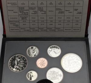 Kanada, Set monet 1978 w tym srebro