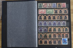 A large collection of stamps - Free City of Gdańsk
