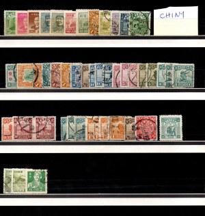 China, set of stamps