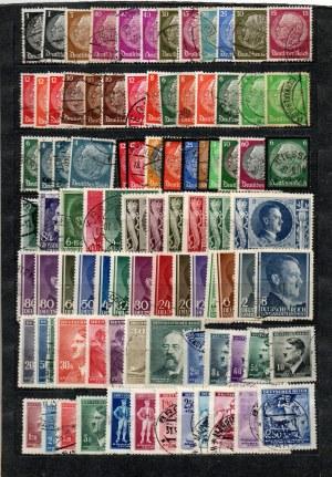 Kolekcja znaczków - zestaw 44