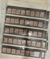 Collection of postage stamps - set 41
