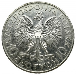 II Rzeczpospolita, 10 złotych 1933 Traugutt
