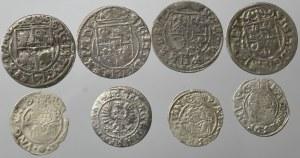 Zestaw monet w tym półtoraki