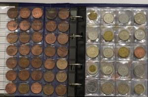 Set of polish and world coins