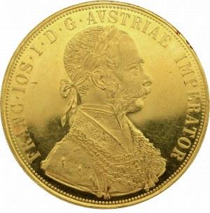 Austria, Franciszek Józef, 4 dukaty 1915 - nowe bicie