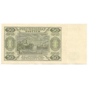 PRL, 50 złotych 1948 DW