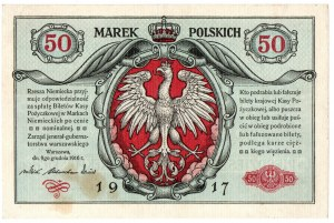 Generalne Gubernatorstwo, 50 marek polskich 1916 - Jenerał