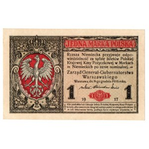 II Republic of Poland, 1 mark 1916 B Generał
