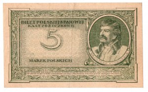 II RP, 5 marek polskich 1919 I