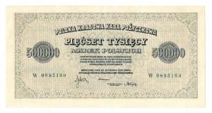 II RP, 500 000 marek polskich 1923 W