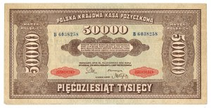 II RP, 50.000 marek 1922
