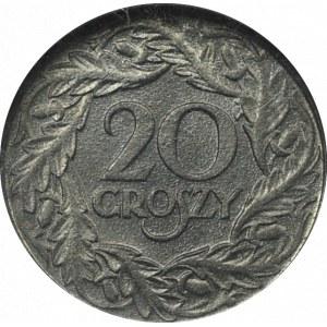 Generalne Gubernatorstwo, 20 groszy 1923