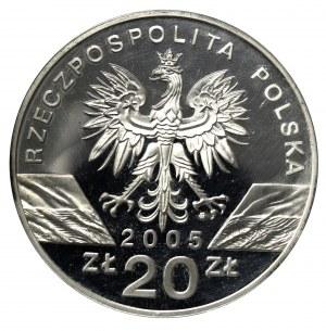 III RP, 20 złotych 2005 Puchacz
