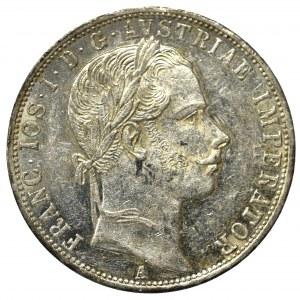 Austria-Hungary, 1 florin 1860