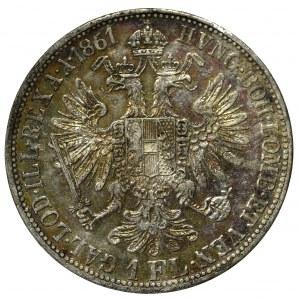 Austro-Węgry, 1 floren 1861