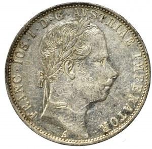 Austria-Hungary, 1 florin 1861