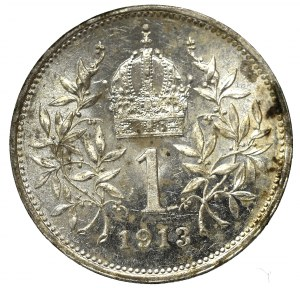 Austro-Węgry, 1 korona 1913