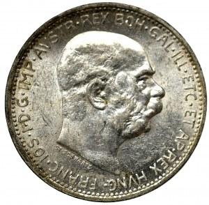 Austro-Węgry, 1 korona 1914