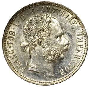 Austria-Hungary, Franz Joseph I, 1 florin 1891