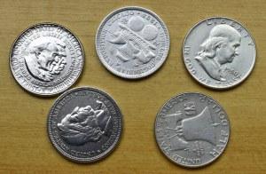USA, set of coins
