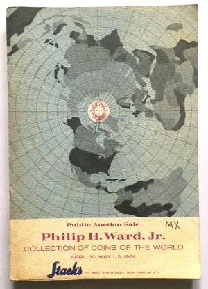 Katalog aukcyjny, Stacks COLLECTION OF COINS OF THE WORLD 1964 r - rzadkie i ciekawe, monety polskie