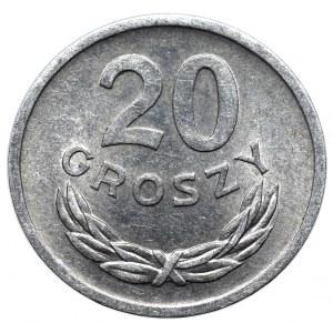 PRL, 20 groszy 1971