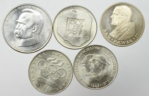PRL, Zestaw monet srebrnych