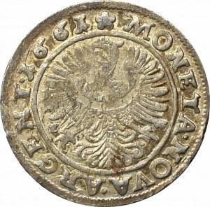 Schlesien, Duchy of Liegnitz-Brieg, Georg III, 3 kreuzer 1661