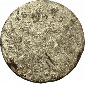 Kingdom of Poland, Alexander I, 5 groschen 1819 IB