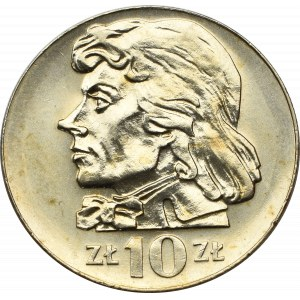 PRL, 10 złotych 1972 Kościuszko