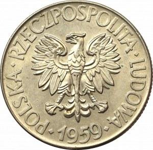 PRL, 10 złotych 1959 Kościuszko